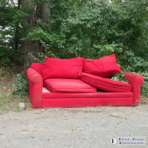 A Couch Alone.