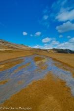 Hverarönd: Warm running water