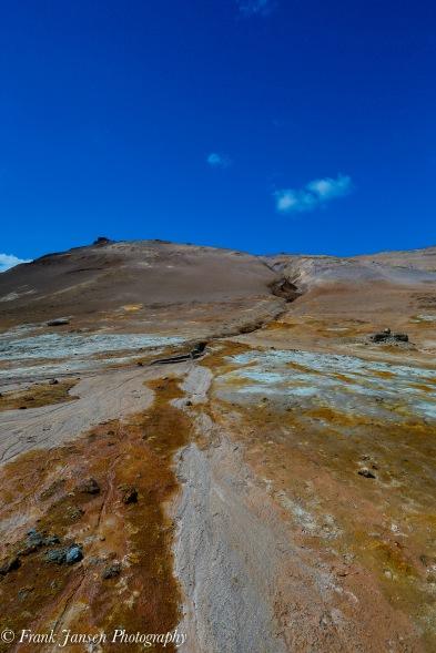Hverarönd: sulphur deposits