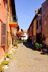 Alley Way in Ostia Antica