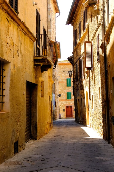 Streets of Montepulciano