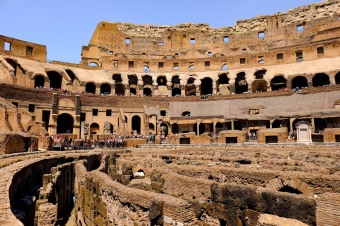 View across the Colosseum