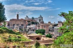 View towards Altare della Patria