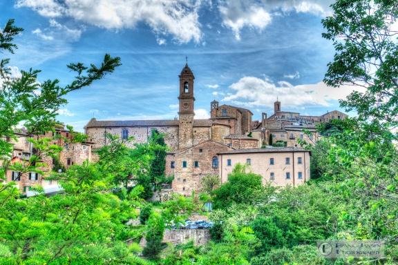 Looking toward Montepulciano