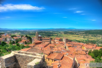 Looking over Massa Marittima