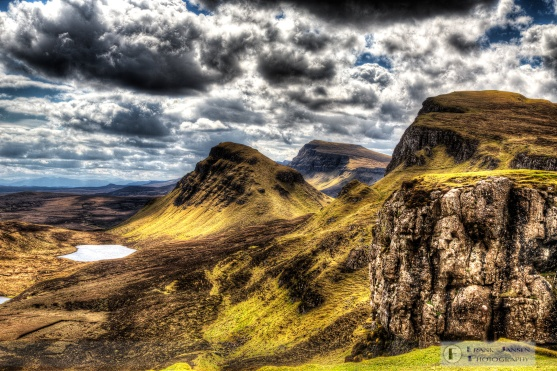 Textures of the Quiraing
