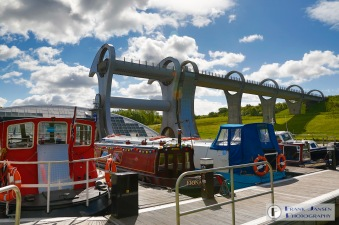 Views of the Falkirk Wheel